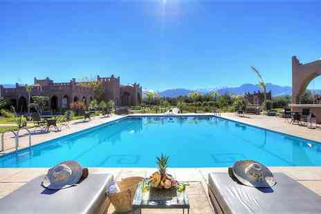 Kasbah Igoudar Boutique Hotel & Spa - Five Star Luxurious Indulgence near the Atlas Mountains for two - Save 49%