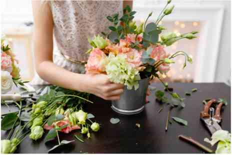 Nadine and Nathaniel Flower School - Hands On Floristry Experience - Save 0%
