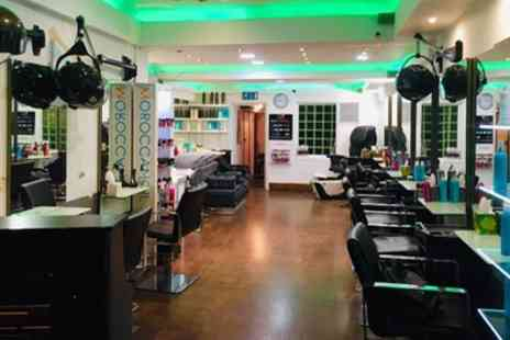 C and A Hair - Wash, Cut, Blow Dry and Half or Full Head of Highlights, Full Head of Colour or Balayage - Save 58%