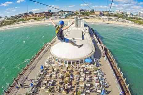 Pier Zip Line - Winter or Summer Pier Zip Line Experience for One or Two - Save 27%