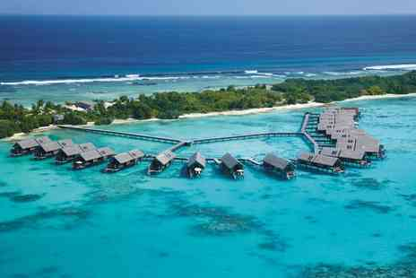 Shangrilas Villingili Resort & Spa - Five Star Luxury Collection: Breathtaking Water Villa Relaxation in Total Paradise - Save 0%