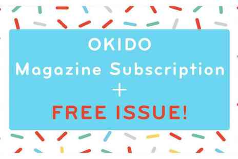 Okido - Okido Magazine Subscription Plus Free Issue With Art, Science and More for Curious Minds Aged 3 To 7 - Save 29%