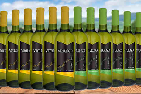 Casa de Vinos Finos - 12 Bottles of Chardonnay or Sauvignon Blanc Wines - Save 67%