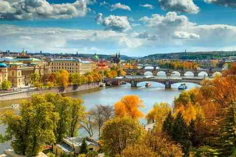 Weekender Breaks - Two nights Prague getaway with a River Vltava Cruise and return flights - Save 50%