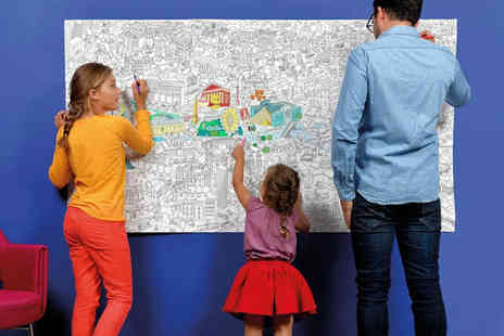 Dream Price Direct - Giant colouring poster roll - Save 50%