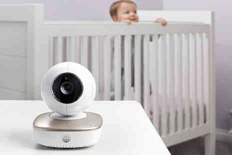 Trojan Electronics - Motorola MBP87CNCT smart nursery monitor camera - Save 64%