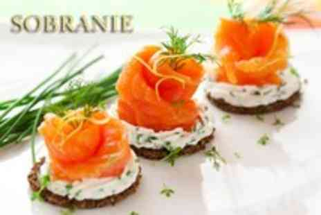 Sobranie Russian Restaurant - 3 course Russian meal for 2 plus a glass of house wine each - Save 50%