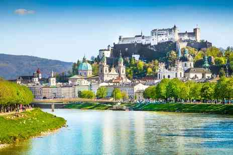 Via Holiday - Two nights Stay Salzburg, Austria break with return flights - Save 54%