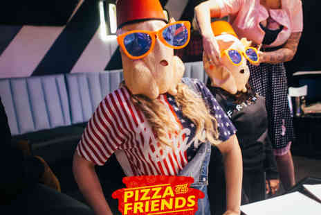 Duo - Friends quiz for two people with an hour of bottomless cocktails, a pizza each and club entry - Save 47%
