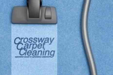 Crossway Carpet Cleaners - Carpet Clean For Two Rooms and Stairs for £29 at Crossway Carpet Cleaners (61% Off) - Save 61%