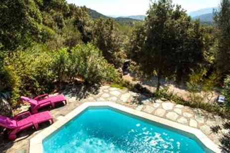 Corsican Places - French island villa escape with private pool and flights - Save 0%