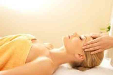 Head Start - Back, neck and shoulder massage with either a manicure or pedicure - Save 70%