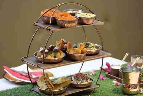 Olives Bar & Grill - Indian inspired afternoon tea for two with a glass of bubbly each - Save 0%