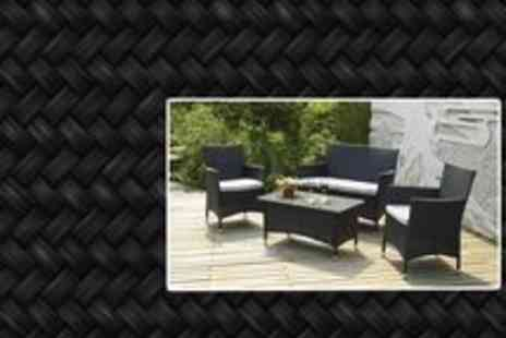 Garden Living Room - Garden Lounge Set Rattan - Save 64%