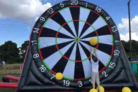 Zorb Strike - One Hour Football Darts Game for Up to Six - Save 41%