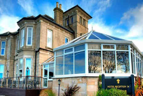 Fairfield House Hotel - Overnight Ayr break for two people with a glass of Prosecco on arrival, three course dinner in a AA Rosette awarded restaurant, leisure access, breakfast and late check out - Save 51%