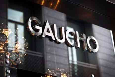 Gaucho - Choice of Dining Experiences with Argentine Sparkling or Malbec Wine for One or Two - Save 0%