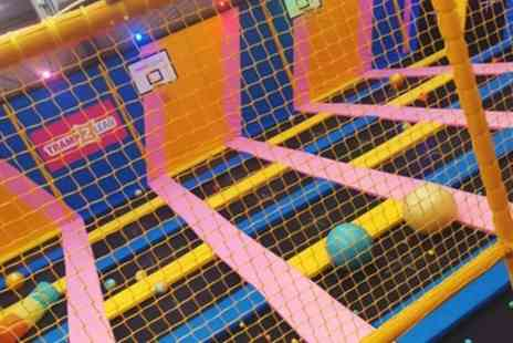 Tramp 2 Lean - 90 Minute Bouncing Party Package with Exclusive Hire or Party for Ten Kids - Save 47%