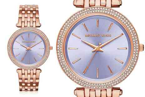 Ticara Watches - Ladies Michael Kors MK3400 purple Darci watch - Save 56%