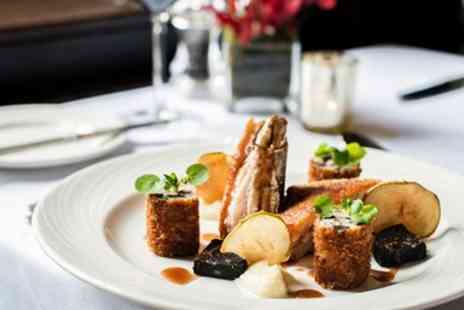 Mere Court Hotel & Conference Centre - Creative Three course meal for 2 - Save 50%