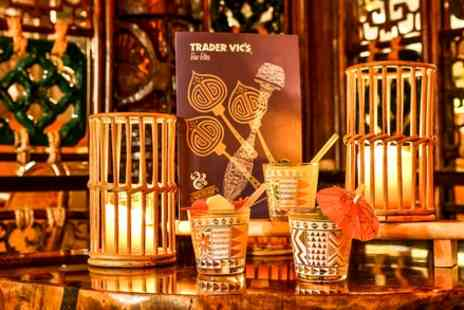 Trader Vics  - Three Course Meal with Cocktail for Two - Save 54%