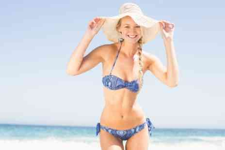 Beauty and Scissors - Brazilian or Hollywood Wax with Optional Underarm and Half Leg Wax - Save 27%