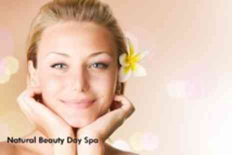 Natural Beauty Day Spa - Three 30 minute sessions of Red Light Therapy - Save 90%