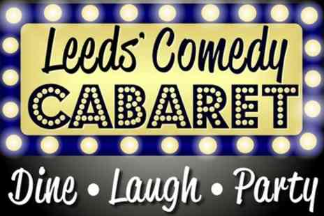 Comedy Cabaret - Entry to Comedy Show for Up to Four - Save 47%