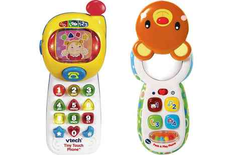 Groupon Goods Global GmbH - VTech Peek and Play Phone or VTech Tiny Touch Phone - Save 0%