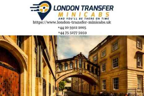 London Transfer Minicabs - London Heathrow Airport to Oxford - Save 0%