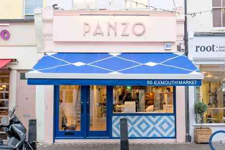 Panzo Pizza - Two course meal for two people with a bottle of Prosecco or wine to share - Save 50%