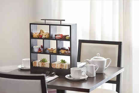 DoubleeTree by Hilton Hotel - Afternoon tea with a glass of Prosecco each for two - Save 70%