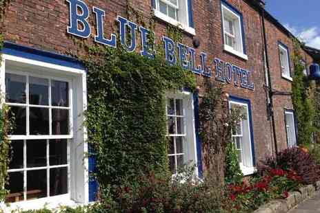 Blue Bell Hotel - Overnight stay for two people with breakfast, £20 restaurant credit and late check out - Save 54%