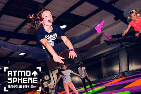 Active Nation - Atmosphere Trampolining Gravity Defying Fun for All Ages - Save 40%