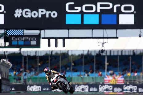 Virgin Experience Days - 2019 GoPro British Grand Prix MotoGP Race Day Tickets for Two - Save 0%
