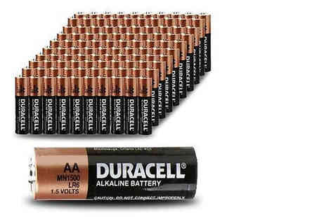 Euro East Biz - Multi pack of Duracell batteries choose between two types - Save 56%