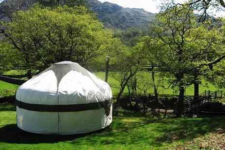 Inside Out Camping - Four nights glamping break in a yurt for up to four people - Save 55%