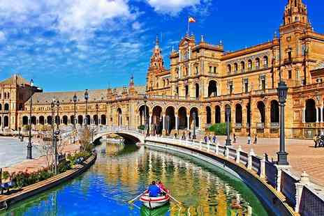 Hotel Hesperia Sevilla - Four Star Classic and Ideally Located Hotel with Spa for two - Save 49%