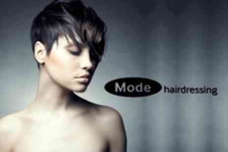 Mode Hairdressing - Cut and Conditioning (£19) With T-Section Highlights (£25); or Gents' Shampoo and Cut (£12) at Mode Hairdressing (Up to 75% Off) - Save 75%
