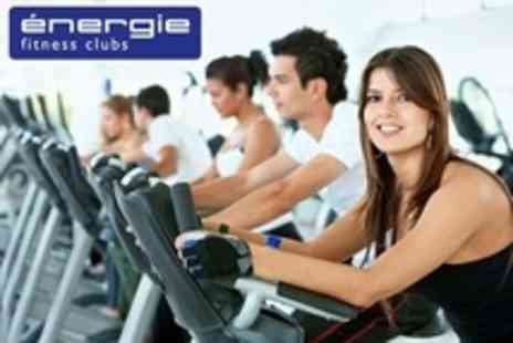 énergie Fitness - Ten Individual Gym Day Passes With Fitness Class Access - Save 81%