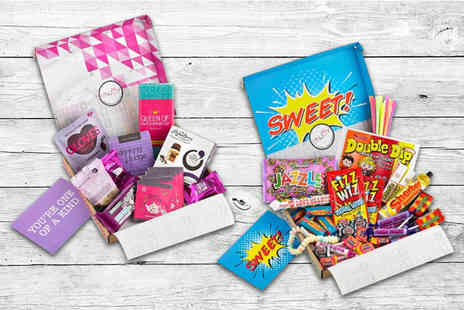 Just Letter Box - 50% discount voucher for all justletterbox hampers - Save 0%