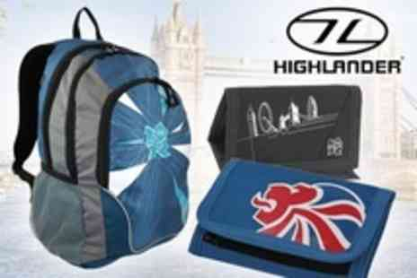 Highlander - London 2012 Bag and Wallet Sets: One (£20) or Two (£40) (42% Off*) - Save 42%