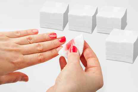 Groupon Goods Global GmbH - Up to 1600 Lint Free Nail Art Wipes - Save 0%