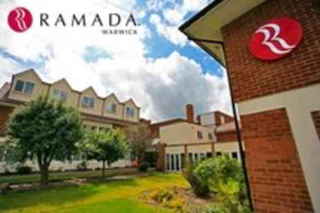Ramada Warwick Hotel - In Kenilworth One Night Stay For Two With Two Course Meal - Save 60%