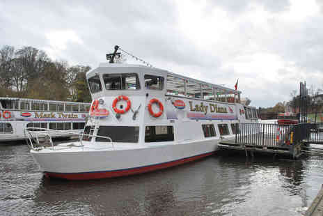 abode - Chester City River Sightseeing Cruise and Afternoon Tea at Abode for Two - Save 0%
