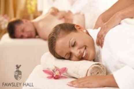 Fawsley Hall - Spa Day For Two: Massage, Facial, and Light Lunch for £89 at Fawsley Hall (61% Off) - Save 61%