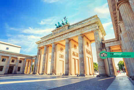 Bargain Late Holidays - Four Star Escape with a two, three or four nights getaway to Berlin Now with the ability to choose your flight - Save 0%