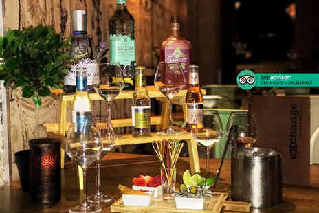 Novotel Manchester City Centre - Six gins with mixers and four tapas dishes to share between two people - Save 47%