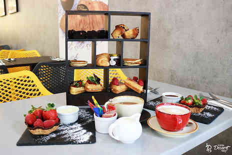 The Little Dessert Shop - Afternoon tea for two people - Save 44%