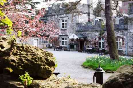 Ruthin Castle Hotel - Copper Bath Ritual, Treatment, Spa Facilities Access and Afternoon Tea - Save 44%